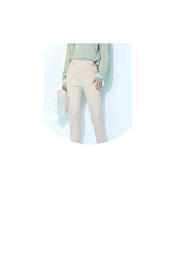 High Waist Casual Women' Pants for Golden Satin Casual Wide Leg Pants Waist Drape Pants,Ivory,XXXL