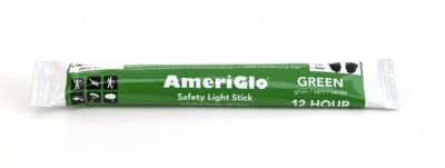 Mutual Industries 17759-39-12 Cyalume 12 hours Lightstick, 6'' Length, Green (Pack of 10) by Mutual Industries (Image #1)