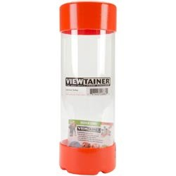 Bulk Buy: Viewtainer (6-Pack) Storage Container 2.75in. x 8in. Orange CC27508-8 by Viewtainer