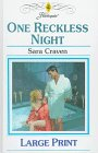 book cover of One Reckless Night