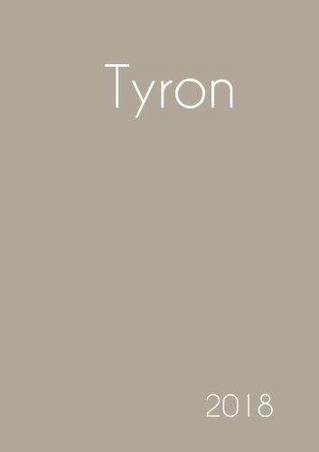 2018: Namenskalender 2018 - Tyron - DIN A5 - eine Woche pro Doppelseite (German Edition) PDF