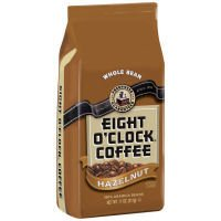 Eight O'Clock Hazelnut Whole Bean Coffee (Case of 6)