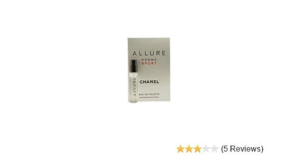 amazon com allure homme sport by chanel for men 0 05 oz eau de