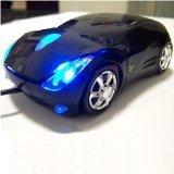Ferrari Car Shaped Optical USB Mouse Black