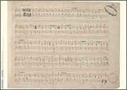 Frédéric Chopin Music Manuscript Poster Ballade in F Major, Op. 38 for ()