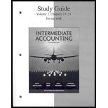 Study Guide, Volume 2 to accompany Intermediate Accounting, Spiceland, J. David and Sepe, James, 0073324604