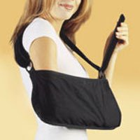 Deep Pocket Arm Sling - Hely & Weber 500-M Arm Sling Deep Pocket Black Medium Ea