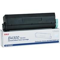 OKI Data Black Toner Cartridge for B4200/B4300/B4350/B4350n Series Type 9 Printers, Yields Approx. 6000 Pages