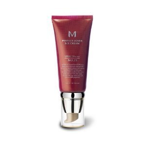 Missha M Perfect Cover No.23 SPF 42/PA+++ BB Cream, Natural Beige, 1.7 Ounce