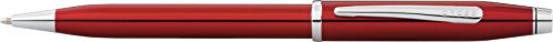 (Cross Century II Translucent Red Lacquer Ballpoint Pen )
