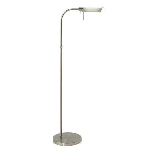 SONNEMAN Tenda Pharmacy Nickel Adjustable Floor Lamp by Sonneman