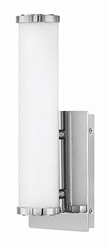 Sconce Hinkley Chrome (Hinkley 59922CM Contemporary Modern LED Bath Wall Sconce from Simi collection in Chrome, Pol. Nckl.finish,)
