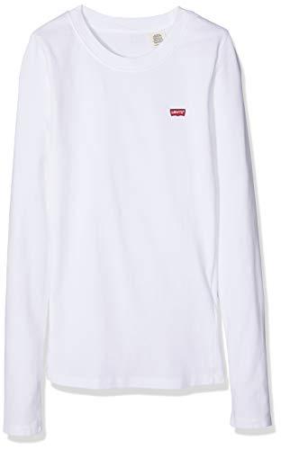 Levi's T Tee Donna Bianco Baby shirt 0000 white Ls Hxaxq76