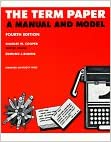 Book The Term Paper: A Manual and Model