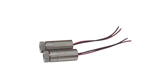Laser Oem Module - Qiaoba Laser Diode Module 650nm 5mw Red Lazer Diodes 2Pack (Laser Line)