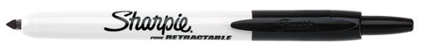 Sharpie Retractable Permanent Markers, Fine Point, Assorted Colors, 3 Count