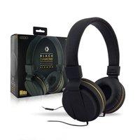 - Sentry Black Diamond HeadPhones Digital Stereo Sound W/Microphone
