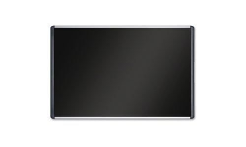 BI-Silque Softtouch Board, 72''x48'', Black  (BVCMVI270301) by Bi-silque