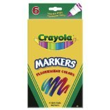 Crayola 8CT Washable Multicultural Colors Conical Tip Markers -