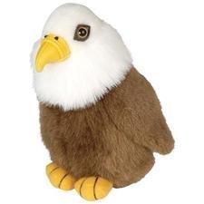 Wild Republic Bald Eagle - Audubon Plush Bird (Authentic Bird - Plush Republic Wild Birds