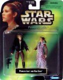 (Star Wars Princess Leia Collection Prince Leia And Han Solo Action Figure)