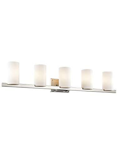 Light Astoria Vanity - Livex Lighting 1335-05 Astoria 5-Light Bath-Light, Chrome