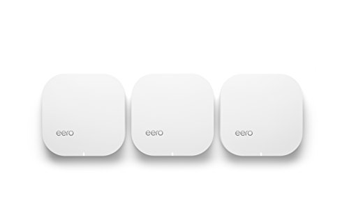 eero Home WiFi System (Pack of 3) - 1st generation, 2016 Generation Software