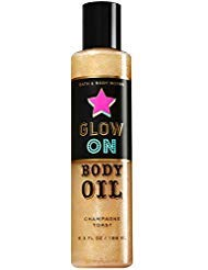 - Bath & Body Works Glow On Shimmer Body Oil Champagne Toast 6.3 oz
