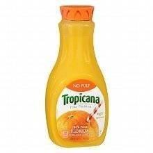 TROPICANA ORANGE JUICE NO PULP 59 OZ PACK OF 2 by Tropicana