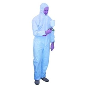 Coverall Hooded Pro Automtv Xl