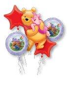 Winnie the Pooh Balloon Bouquet]()