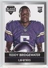 Teddy Bridgewater (Trading Card) 2014 Panini Black Friday - Rookie Portrait - Decoy Thick Stock #3 (Teddy Portrait)