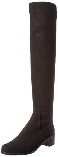 Stuart Weitzman Women's Reserve Boot,Black/Black,9 M US
