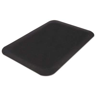 Millennium Mat Guardian 44030535 Pro Top Anti-Fatigue Mat, PVC Foam/Solid PVC, 36 x 60, Black ()