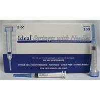 Syringe 3cc Without Needle  100 Box LL