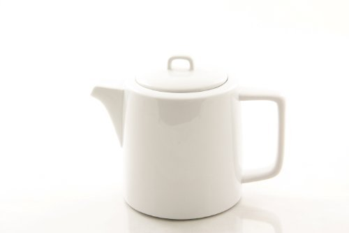 The Cellar Porcelain 32 Ounce Teapot Solid White - White Macy