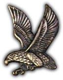 US Army Falcon Left Lapel Pin -