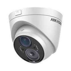 Hikvision DS-2CE56C5T-VFIT3 Outdoor Analog IR Turret Camera, HD720P, 2.8-12 mm Lens, 50M EXIR, Day/Night, DWDR, Smart IR, UTC Menu, IP66 Standard, 12VDC