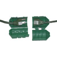 Extension Cord Protector (Farm Innovators Model CC-2 Cord Connect Water-Tight Cord Lock - Green)