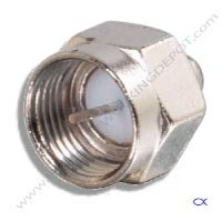 Terminator, 75 OHM, F Port Screw-on, 5-2050Mhz, 5 pack ()