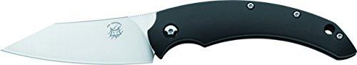 Fox Knives 01FX047 Slim Dragotac Knife with 3.1-in. Blade, Black