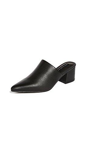 STEVEN by Steve Madden Women's Simone Sneaker Black Leather