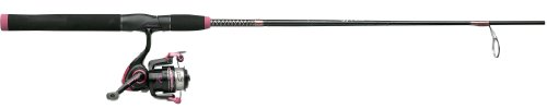 Shakespeare Two-Piece Medium Action Ladyfish Ft Spin Combo (6-Feet), Outdoor Stuffs