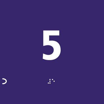 Cartel para número de nivel braille muestra línea clara ...