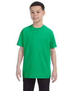 Gildan boys Heavy Cotton T-Shirt-IRISH GREEN-M ()