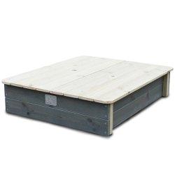 EXIT-52050100-Aksent-Sandkasten-mit-Deckel-inkl-zwei-Kunststoffbecken