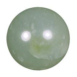 - New Jade Medium Crystal Sphere ~4.5cm