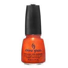 Hunger Games Makeup (China Glaze Nail Lacquer, Riveting, 0.5 Fluid Ounce)