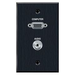 Wall Plate Vga Audio Network Video Conferencing Telepresence