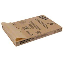 Dixie LO10U2 Georgia-Pacific Pan Liner, Grease Resistant, Unbleached, 24.375'' Length x 16.375'' Width (Pack of 2000) by Dixie
